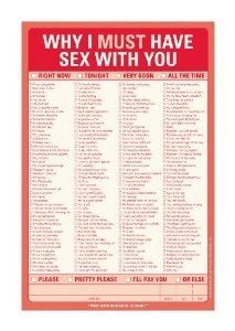 Pad: Why I Must Have Sex with You: Knock Knock: 0825703122039: Amazon.com: Books