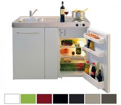 Miniküche Stengel Premiumline MP 120, Metall, 120 cm, Farbe wählbar