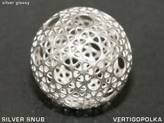 Silver Sphere at shapeways.