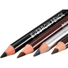 2 in 1 Makeup Cosmetic Eye Liner Eyebrow Pencil Pen Brush 4 Colors ($2.51) ❤ liked on Polyvore featuring beauty products, makeup, eye makeup, beauty, cosmetics, other, backgrounds, brow makeup, eye pencil makeup and pencil eyeliner
