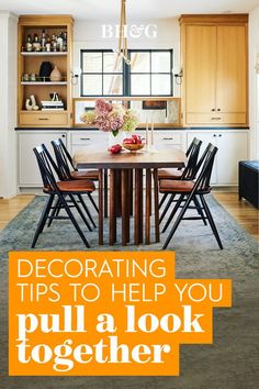 With so many elements to consider and choices to make, decorating can be a challenge. To make the process easier and more enjoyable, there are a few strategies you can take that will simplify your decorating decisions. Follow these steps to learn how to pull together a look you'll love #decoratingtips #interiordecorating #homedecortips #interiordesign #homedecorideas #bhg Decorating Tips, Interior Decorating, Interior Design, Home Decor Trends, Table, Furniture, Nest Design, Home Interior Design, Interior Designing