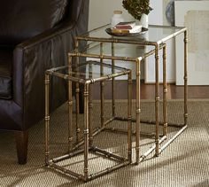 McKinley Nesting Tables | Pottery Barn
