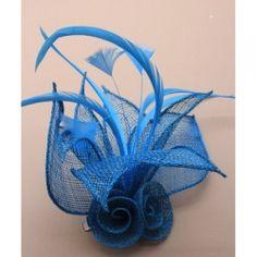 £9.99 Turquoise mesh net flower Wedding fascinator How To Make Fascinators, Wedding Fascinators, Fascinator Diy, Headpiece, Flowers In Hair, Wedding Flowers, Mesh Netting, Millinery Hats, Love Hat