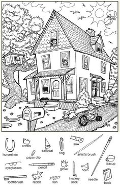 Znaleźliśmy dla Ciebie kilka nowych Pinów na tabli... - Poczta o2 Hidden Picture Games, Hidden Picture Puzzles, Hidden Pics, English Activities, Preschool Activities, Hidden Pictures Printables, Highlights Hidden Pictures, Hidden Objects, Activity Sheets