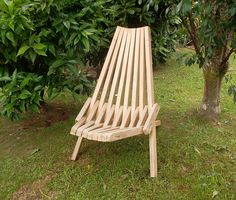 The finished folding chair