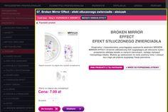 Broken Mirror Effect - efekt stłuczonego zwierciadła - słoiczek Broken Mirror, Mirror Effect, Perfume, Gifts, Presents, Favors, Fragrance, Gift