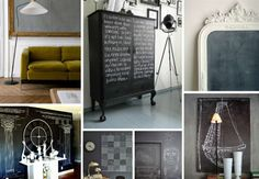 DIY Chalkboard Ideas 1 - https://www.facebook.com/different.solutions.page