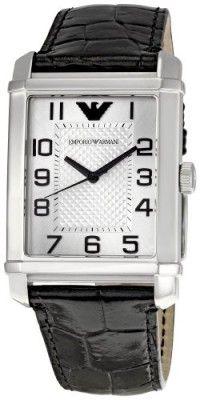 Relógio Emporio Armani Men s AR0486 Classic Silver Dial Watch  Relogio   EmporioArmani b16ba33b7b