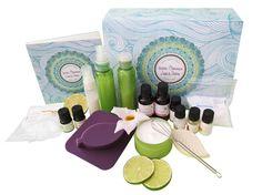 Coffret cosmétique maison Beauté Des Cheveux 100% Nature - Aroma-Zone. 29,5€