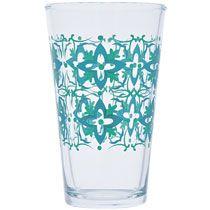 Spanish Flair Glass Coolers, 17 oz.