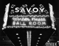 swing ballrooms the savoy the palomar and harvest moon ball