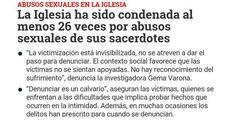 Abusos sexuales en la iglesia. #abuso #abusos #sexual #sexuales #iglesia #España #MarcaEspaña #MarcaEspana