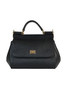 DOLCE & GABBANA Dolce & Gabbana Mini Sicily Handbag. #dolcegabbana #bags #shoulder bags #hand bags #leather #lining #