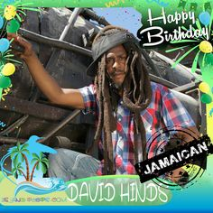 Happy Birthday David Hinds!!! Lead Vocalist & Guitarist for the Grammy award-winning Reggae band Steele Pulse!!! Today we celebrate you!!! #davidhinds #steelepulse #islandpeeps #islandpeepsbirthdays #reggae #jamaica