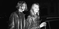 Johnny Depp and Kate Moss (1994) ♥