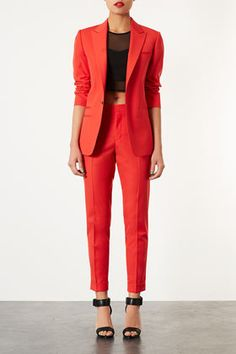 ++ tailored cigarette trousers