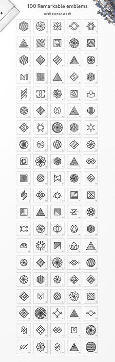 Geometric Logo Pack  - Logos