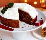 Μεθυσμένο κλασικό Χριστουγεννιάτικο κέικ