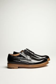 Dries Van Noten - Leather Shoe Black