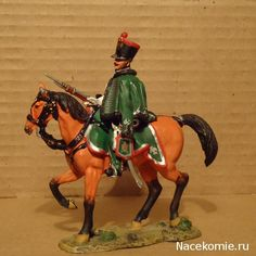 Horse Granadier Scout, Imperial Guard 1813 Del Prado: Cavalry of the Napoleonic Wars