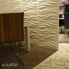 WallArt's brand new 3D wall panel Waves!  tWallArt 3D panel www.kerma.hu és mywallart.hu/ Wallart,Loft Design System és kerma falpanelek forgalmazása. Új termék a belsőépítészetben. A 3D falpanelek dekoratív falburkolatok, melyek alkalmazhatóak lakásokban, irodákban, kirakatba, üzlet dekorációként, szállodákban. Festhető, könnyen kivitelezhetö termék. Kerma Design Kft