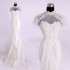 Cheap vestido de noiva, Buy Quality de noiva directly from China bridal gown Suppliers: 2017 new arrival Elegant High Neck mermaid wedding dress elegant wedding Bridal Gown Custom Made vestido de noiva