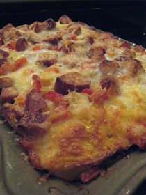 APPLE A DAY: Jamie's Breakfast Casserole with Ham and Cheese