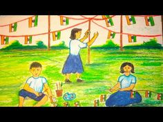 Independence Day Drawing || Happy Independence Day 2020 || Independence Day Decoration Idea - YouTube Independence Day Drawing, Happy Independence Day, Independence Day Decoration, Art Drawings Sketches, Poster Drawing, Painting, Etsy, Youtube, Painting Art
