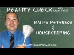 Ralph Peterson (@the_housekeeper on Twitter) talks housekeeping management. Craig was a guest on Ralph's The Housekeeper's Podcast (episode 316) so it's only fair that Ralph returns the favor. They talk tipping hotel housekeepers, Craig's disdain for a world that is becoming too specialized and how to deal with workers who would rather being doing a different job.    You can find Ralph at http://www.speakerralphpeterson.com    Subscribe to the audio podcast at http://realitycheckpodcast.com