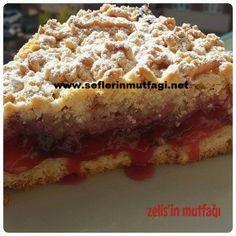 Mürdüm erikli turta Pie Recipes, Dessert Recipes, Cooking Recipes, Desserts, Greek Cooking, Cooking Time, Quiche, Plum Pie, Food Articles