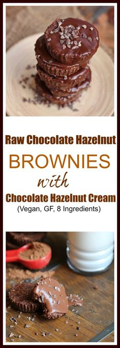 What are the 2 main ingredients you see in every raw brownie recipe? Well, besides cacao powder, that is? Dates and lots and lots of nuts. Well, I've mentioned before that dates aren't on my favori...