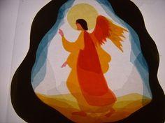 Angel, Steiner/Waldorf window transparency