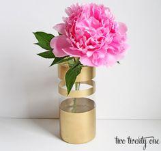 Faça você mesma: Vaso decorado
