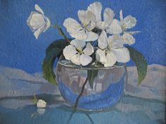 Spring flowers. oil, canvas