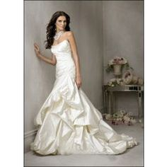 !!!Great Prices!!! Vogue Style Satin Strapless*** Custom Made Wedding Dresses for R1,299.00