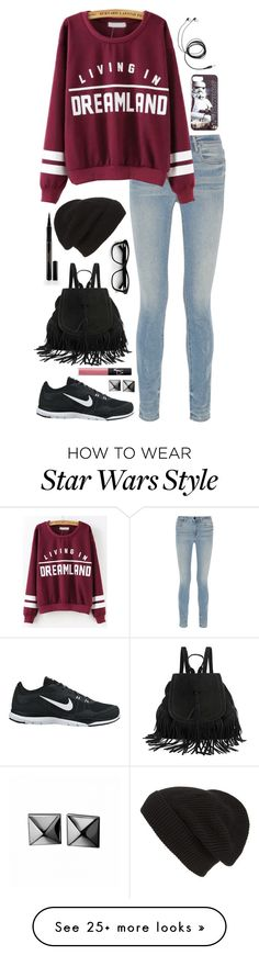 """""""Untitled #108"""" by bookgirl27 on Polyvore featuring Alexander Wang, NIKE, Elizabeth Arden, Phase 3, Waterford and NARS Cosmetics"""