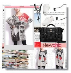 """newchic 1.3"" by meyli-meyli ❤ liked on Polyvore featuring Polaroid"