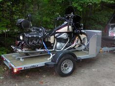 Woodcarver - 99 Drifter, Excaliber Trailer