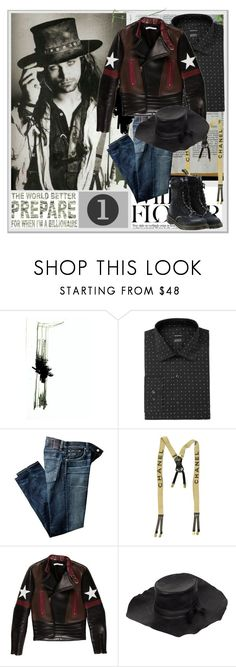 """""""Gypsy"""" by lablanchenoire ❤ liked on Polyvore featuring Alfani, Citizens of Humanity, Chanel, Givenchy, Ann Demeulemeester, Off-White, men's fashion and menswear"""