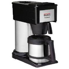 10CBLK/SS Coffee Brewer - http://www.teacoffeestore.com/10cblkss-coffee-brewer/