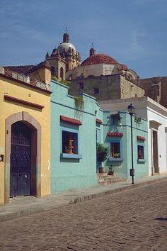 Typical Oaxaca street