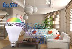 Wireless Speaker Smart LED Bulb
