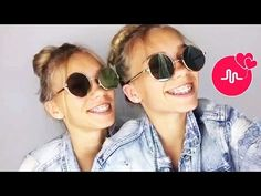 Lisa And Lena Twins Best Musical. Lisa Or Lena, Musically Star, Button Nose, Video Artist, Best Friend Goals, Best Friends Forever, Love And Marriage, Twins, Socialism