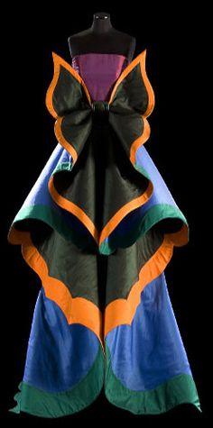 Roberto Capucci - Haute Couture - Robe de Soirée 'Sculpture' - Papillon. Jaglady