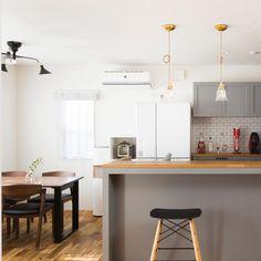 クラシスホームさんはInstagramを利用しています:「かわいい照明とお気に入りの造作キッチン。」