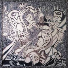 "Saatchi Art Artist Hans Simtanda Caspersen; Drawing, ""Bic"" #art"