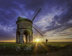 Photographers At Work - Mr Rivett & The Windmill | Flickr - Photo Sharing!