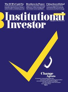 Institutional Investor (US) Cover Illustrated by Noma Bar ::: www.dutchuncle.co.uk/noma-bar-images