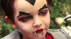 Dracula Vampire Makeup Tutorial für Halloween - Make-Up Kids Vampire Makeup, Vampire Makeup Tutorial, Vampire Kids, Kids Vampire Face Paint, Maquillaje Halloween 2020, Maquillage Halloween Vampire, Halloween Makeup For Kids, Halloween Face, Toddler Halloween