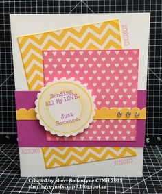 Sheri Says Just Scrap It: Spring-inspired Whimsy Paper Fundamentals cards for Cross Canada Blog Hop